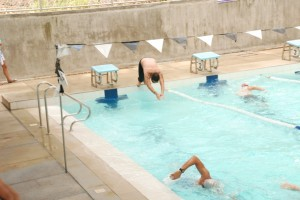 Diving on my second round
