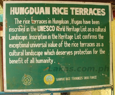 Hungduan Rice Terraces
