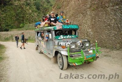 Jeepney Ride to Starting Point