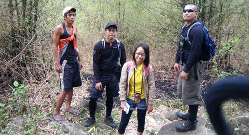 Brenna with Sir Archie and Setneconni Mountaineers
