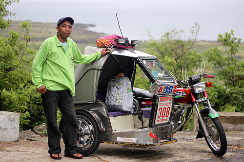 The tricycle driver that made a difference