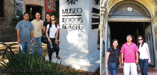 Doi and friends at a Museum in Ilocos Norte