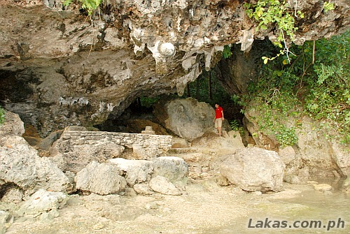Almost a cave at Divinubo Island Eco Tour Park, Borongan, Eastern Samar