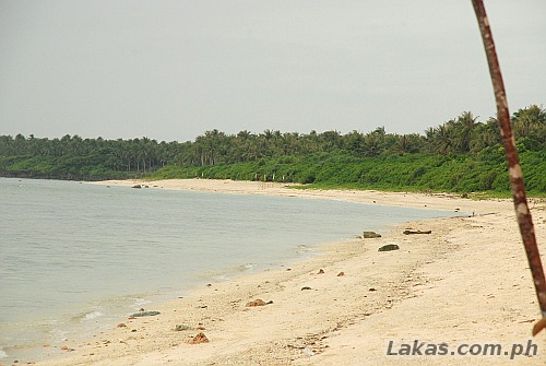 Beach at Calicoan Island in Guiuan Eastern Samar