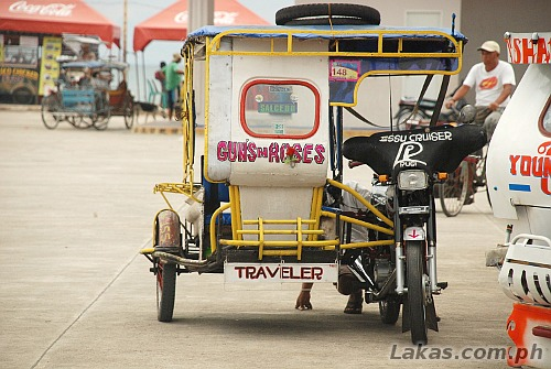 Tricycle to Salcedo at Guiuan Transport Terminal, Guiuan, Eastern Samar