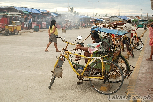Pedicabs to go around Guiuan, Eastern Samar
