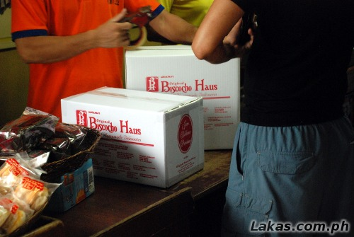 Biscocho Haus Boxes to carry your pasalubong easier