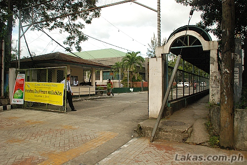 Entrance to the Bureau of Animal Industry in Quezon City