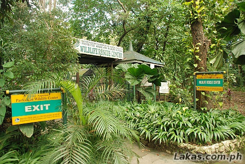 Entrance of the Wildlife Rescue Center