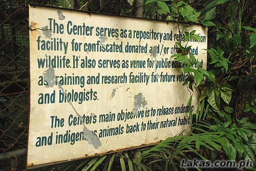 Purpose of the Wildlife Rescue Center