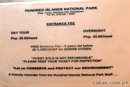 Hundred Islands Resort Room Rates