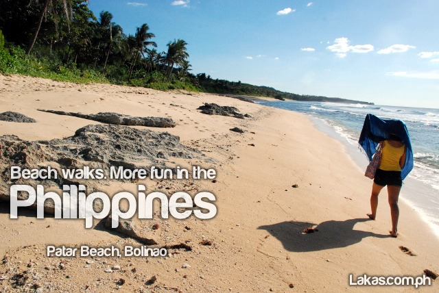 Beach Walks. More fun in the Philippines