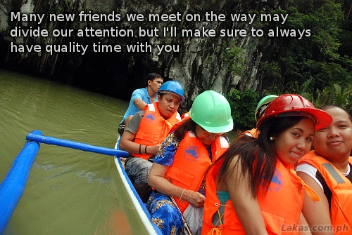 Many new friends we meet on the way may divide our attention but i'll make sure to always have quality time you