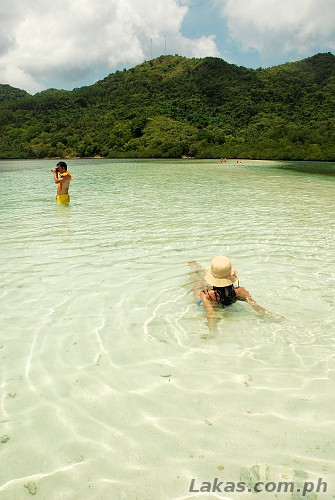 Experiencing the Sand bar of Snake Island