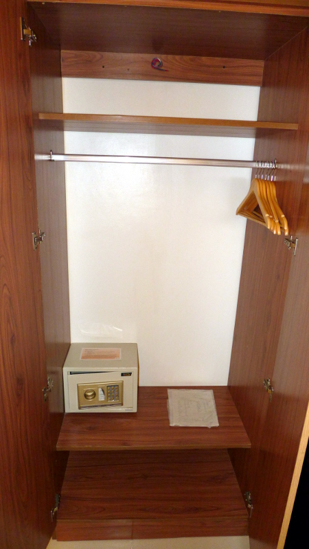 Safety Deposit Box and Hangers