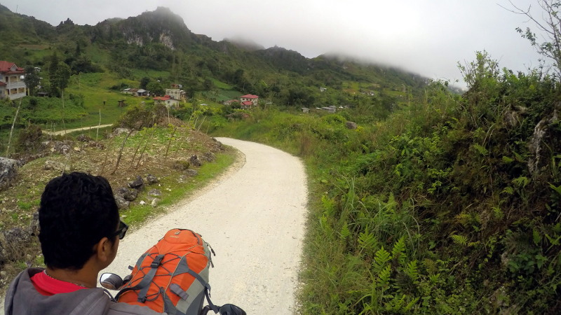 Habal-habal to Osmeña Peak then to Dalaguete