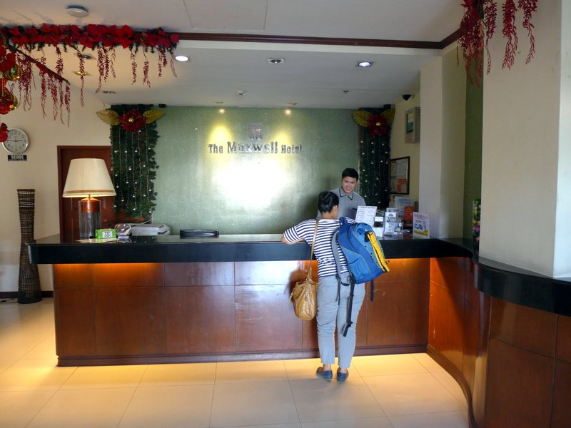 The Maxwell Hotel in Cebu City, Philippines