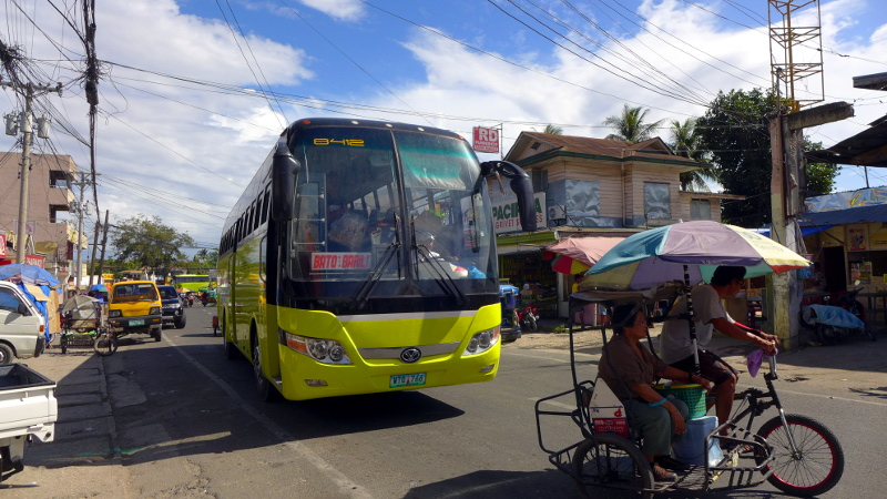 Bus bound to Moalboal