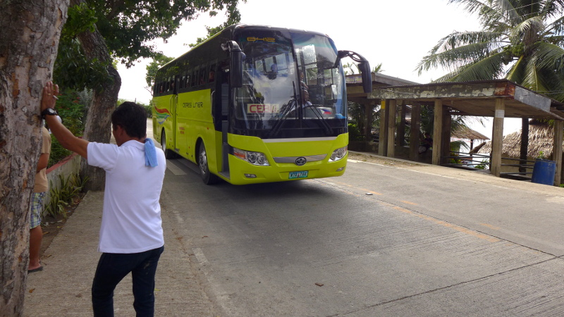 Ceres Bus going back to Cebu City
