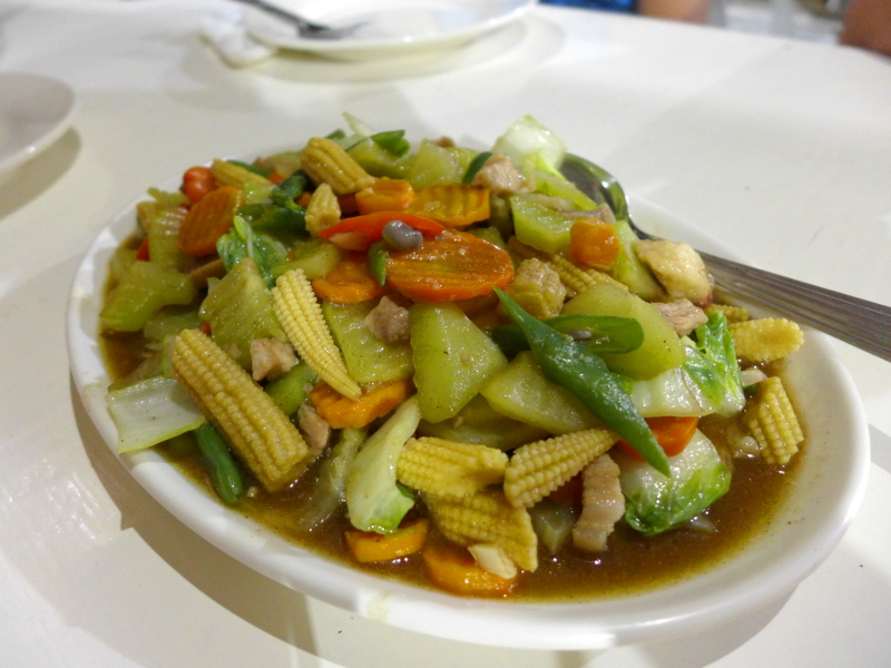 Chopsuey at Matutinao Beach Resort in Badian, Cebu, Philippines