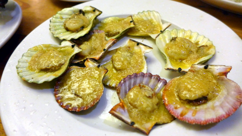 Baked Scallops at STK ta Bay! at Paulito's Seafood House in Cebu City, Philippines