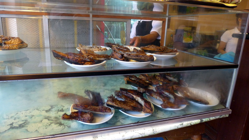 Tuna Panga displayed at the entrance of STK ta Bay!