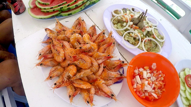 Lunch in Island Hopping Tour B in El Nido, Palawan, Philippines
