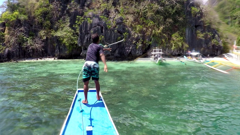 Cudugnon Cave in Island Hopping Tour B in El Nido, Palawan, Philippines