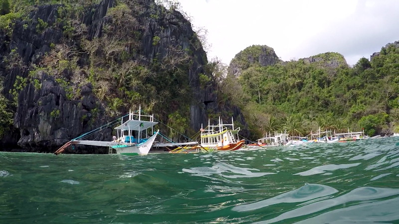 El Nido Island Hopping Tour B in Palawan Philippines