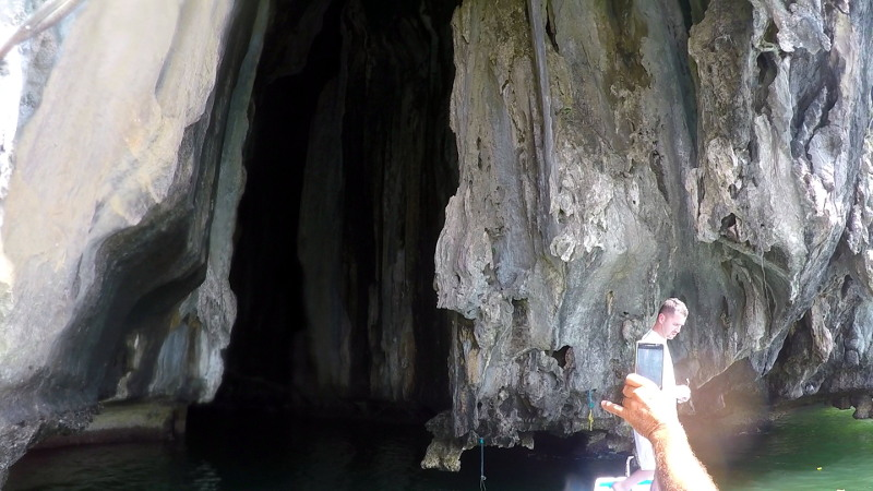 Cathedral Cave in El Nido Island Hopping Tour B in Palawan, Philippines