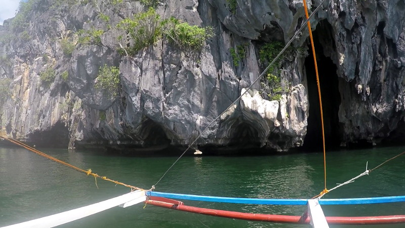 Cathedral Cave in El Nido Island Hopping Tour B in Palawan Philippines