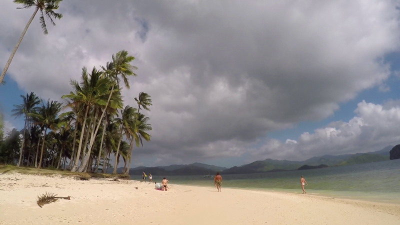 Pinagbuyutan Island in El Nido Island Hopping Tour B in Palawan Philippines
