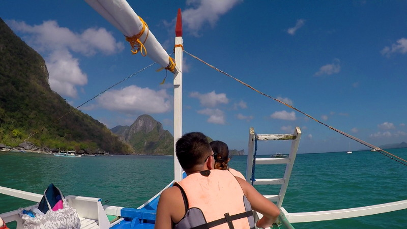 Island Hopping Tour B in El Nido, Palawan, Philippines