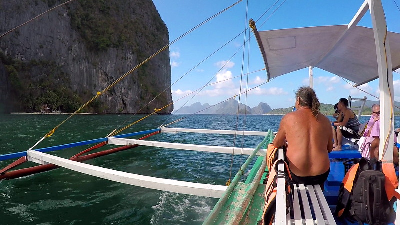 El Nido Island Hopping Tour B in Palawan, Philippines