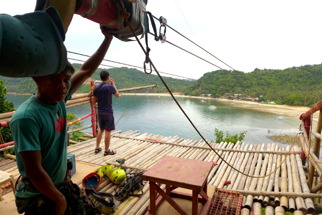 El Nido Zipline at Maremegmeg Beach, Palawan, Philippines