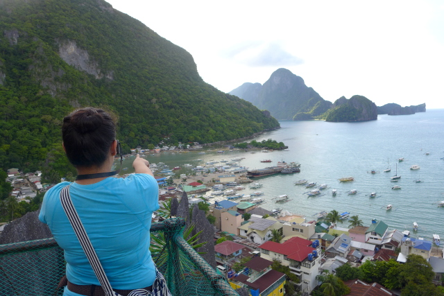 Top Viewpoint at Canopy Walk in El Nido, Palawan, Philippines