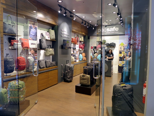 Pacsafe Store at Glorietta 5, Makati City, Philippines