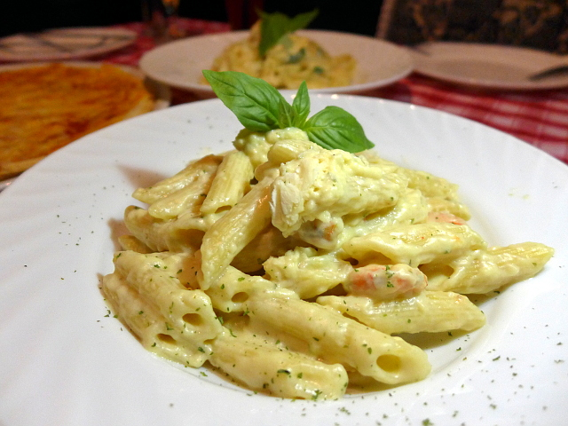 Parmesan Cheese Wheel Pasta in Galileo Enoteca, Mandaluyong City, Metro Manila, Philippines