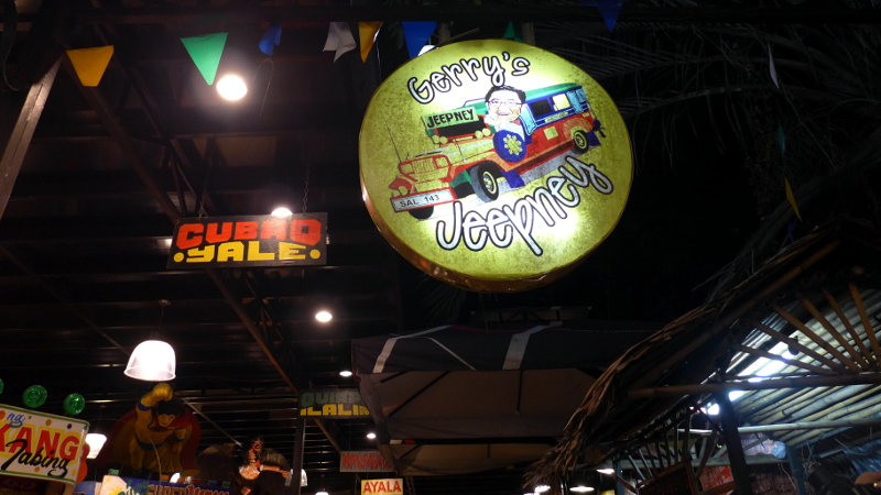 Gerry's Jeepney at Maginhawa Street, UP Village, Quezon City