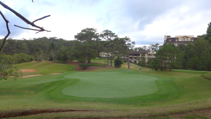 The Golf Club from The Forest Lodge in Camp John Hay, Baguio City