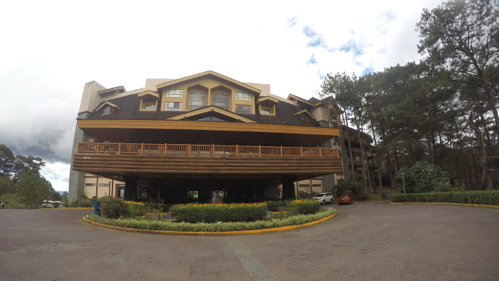 The front of the Forest Lodge, Camp John Hay, Baguio City