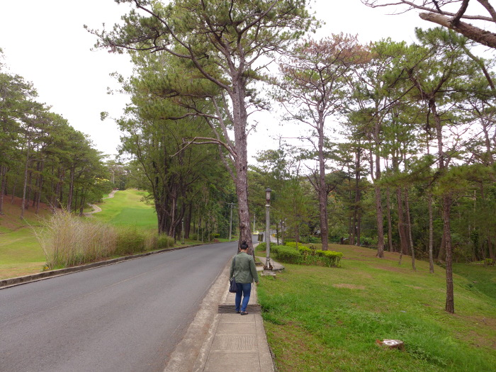 Walking to Chocolate de Batirol from the Forest Lodge, Camp John Hay, Baguio City